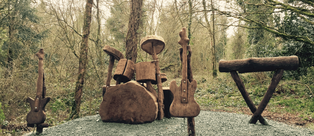 wood instuments in the Wells Woodlands