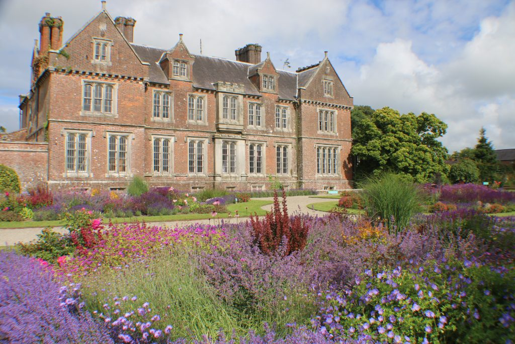 Back of Wells House and gardens Wexford