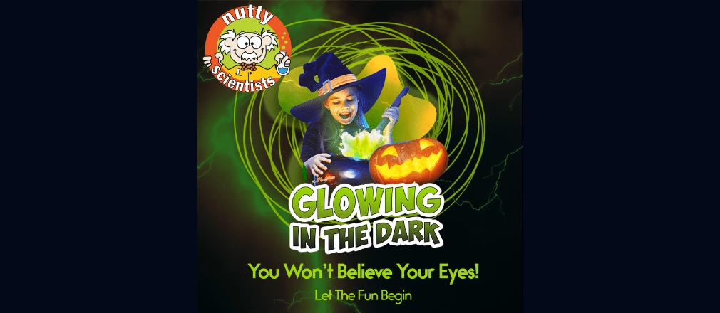 nutty scientist halloween spooky glow show